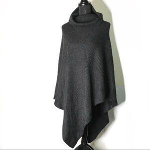 Soft Surroundings Wool Blend Knit Poncho